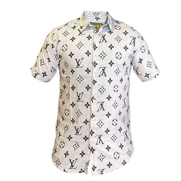 پیراهن آستین کوتاه مردانه مدل هاوایی غیر اصل