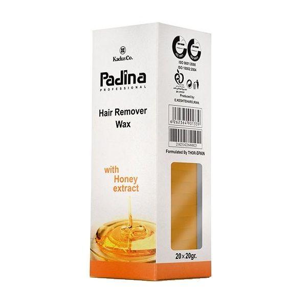 وکس موبر پادینا مدل Honey وزن 20 گرم مجموعه 20 عددی