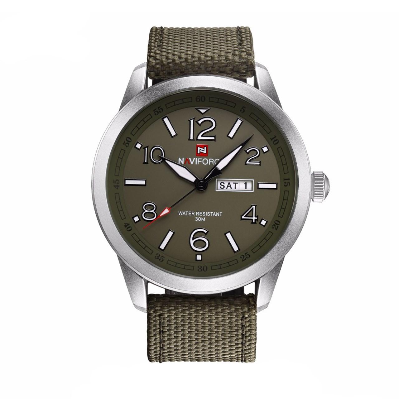 ساعت مچی عقربه ای مردانه نیوی فورس مدل NF9101M/GSG