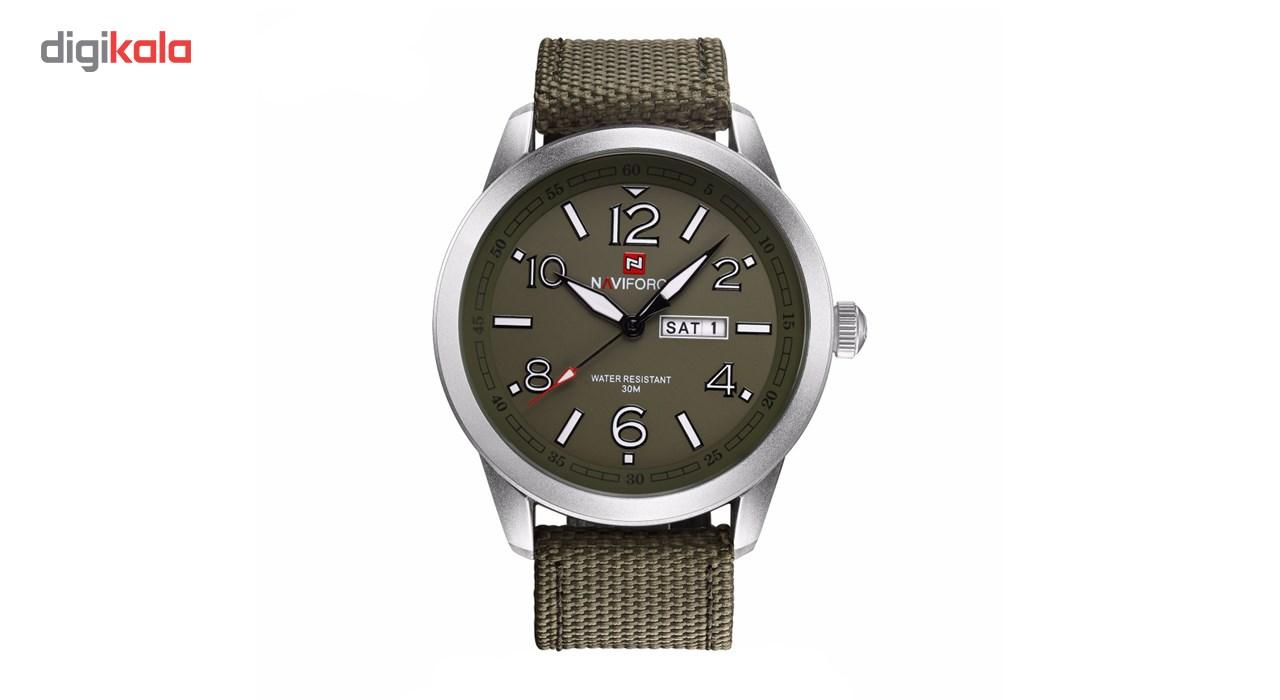 خرید ساعت مچی عقربه ای مردانه نیوی فورس مدل NF9101M/GSG