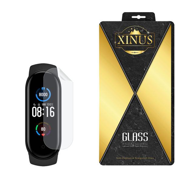 محافظ صفحه نمایش نانو ژینوس مدل NPX مناسب برای ساعت هوشمند شیائومی Mi Band 5 Global Version