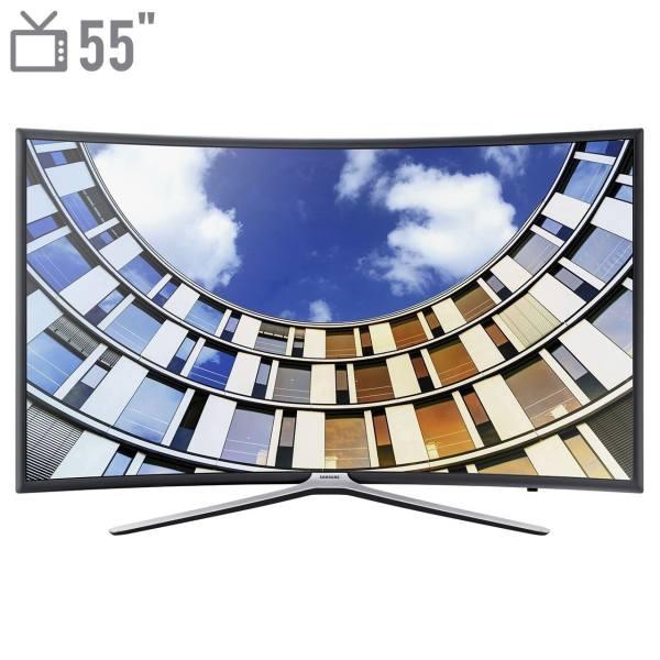 تلویزیون ال ای دی هوشمند خمیده سامسونگ مدل 55M6975 سایز 55 اینچ   Samsung 55M6975 Curved Smart LED TV 55 Inch