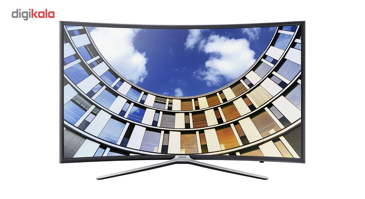 تلویزیون ال ای دی هوشمند خمیده سامسونگ مدل 55M6975 سایز 55 اینچ