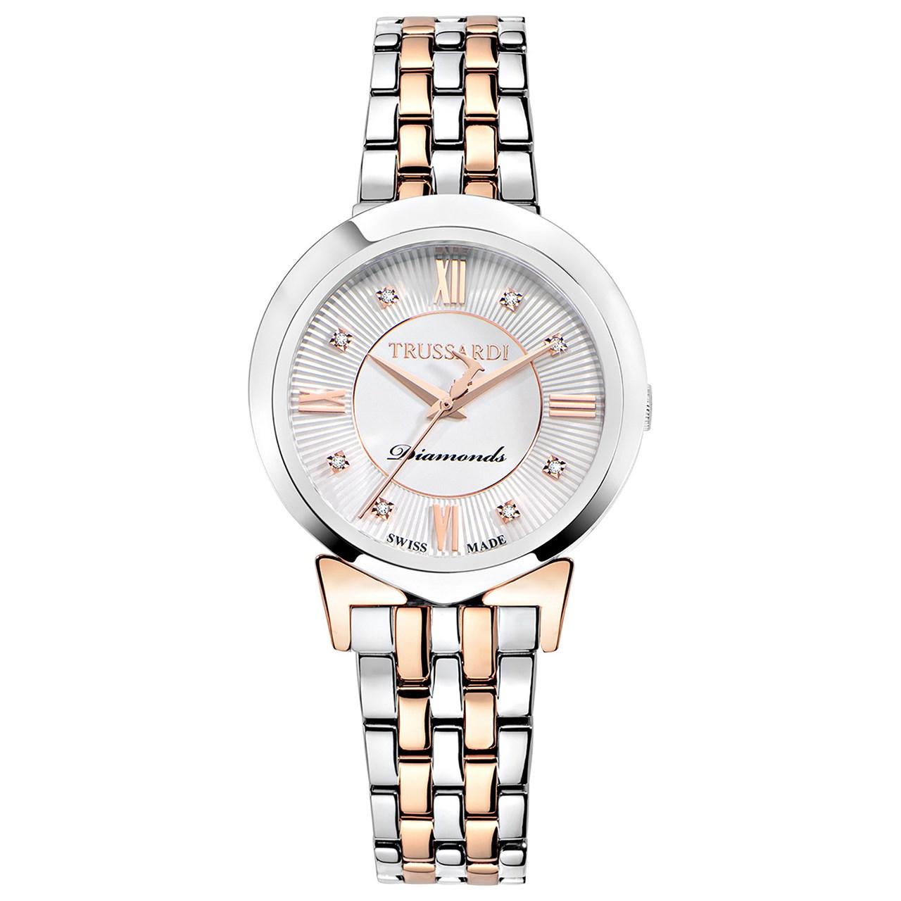 خرید ساعت مچی عقربه ای زنانه تروساردی مدل TR-R2453105506