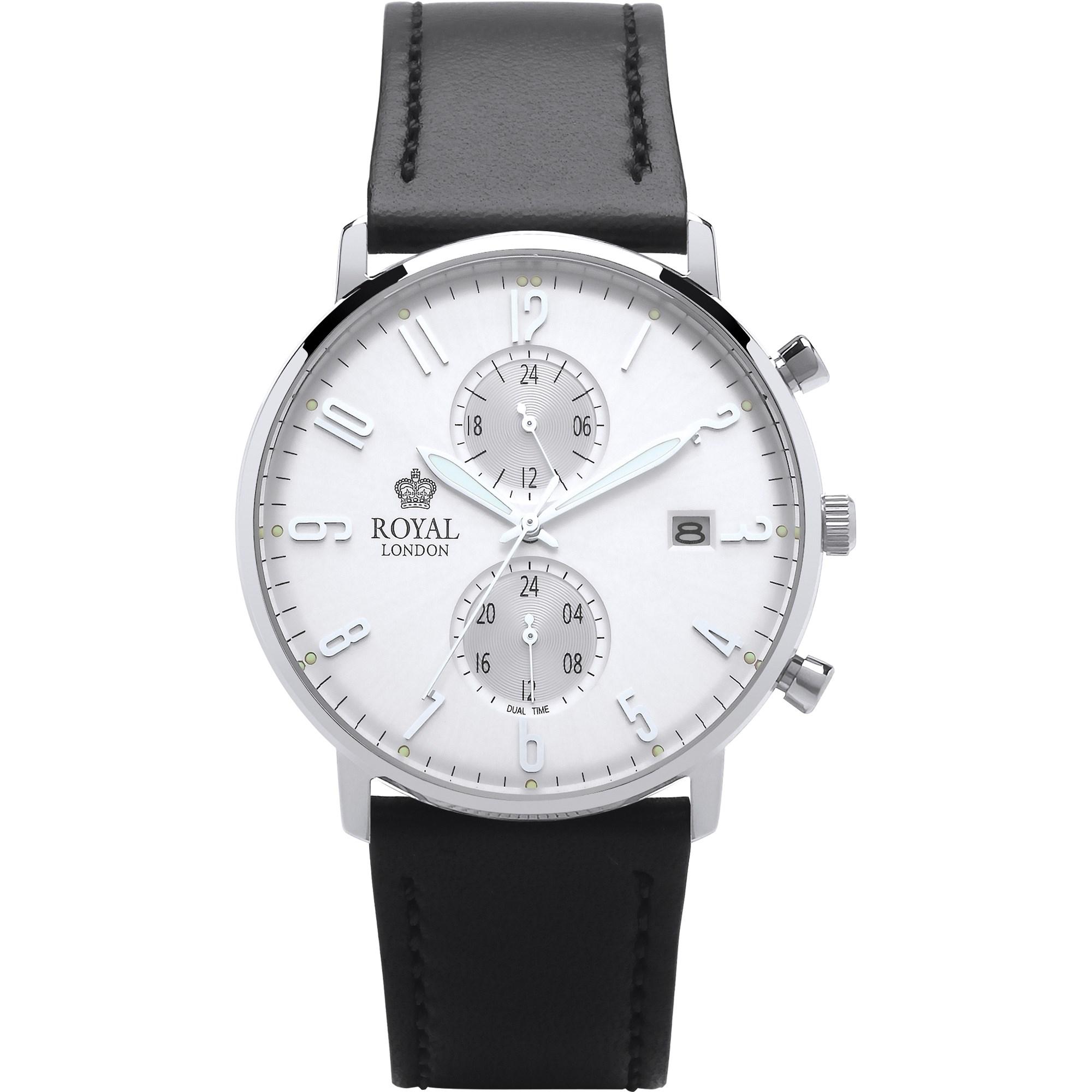 ساعت مچی عقربه ای مردانه رویال لندن مدل RL-41352-01 41