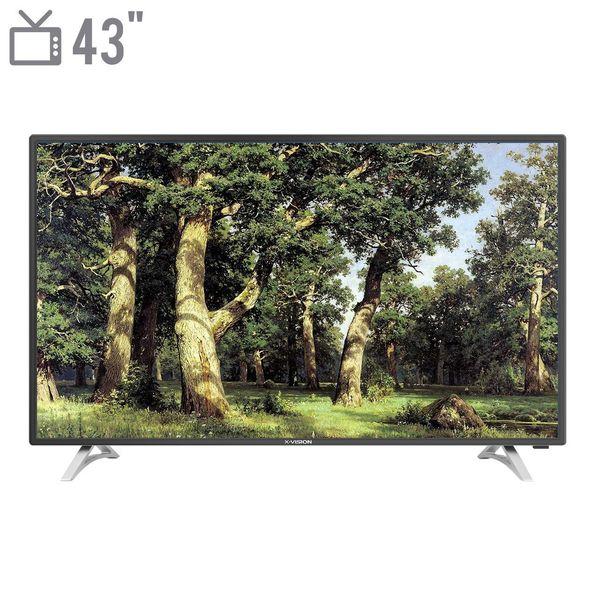 تلویزیون ال ای دی ایکس ویژن مدل 43XS412 سایز 43 اینچ   X.Vision 43XS412 LED TV 43 Inch