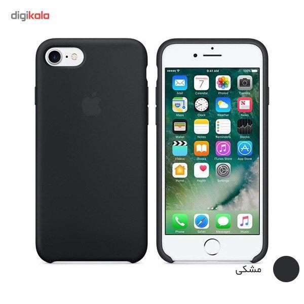 کاور سیلیکونی مناسب برای گوشی موبایل آیفون 7/8 main 1 4