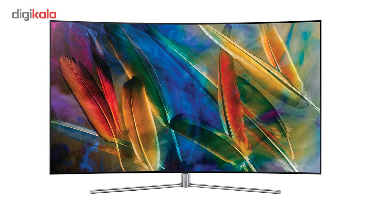 تلویزیون کیولد هوشمند خمیده سامسونگ مدل 55Q78 سایز 55 اینچ