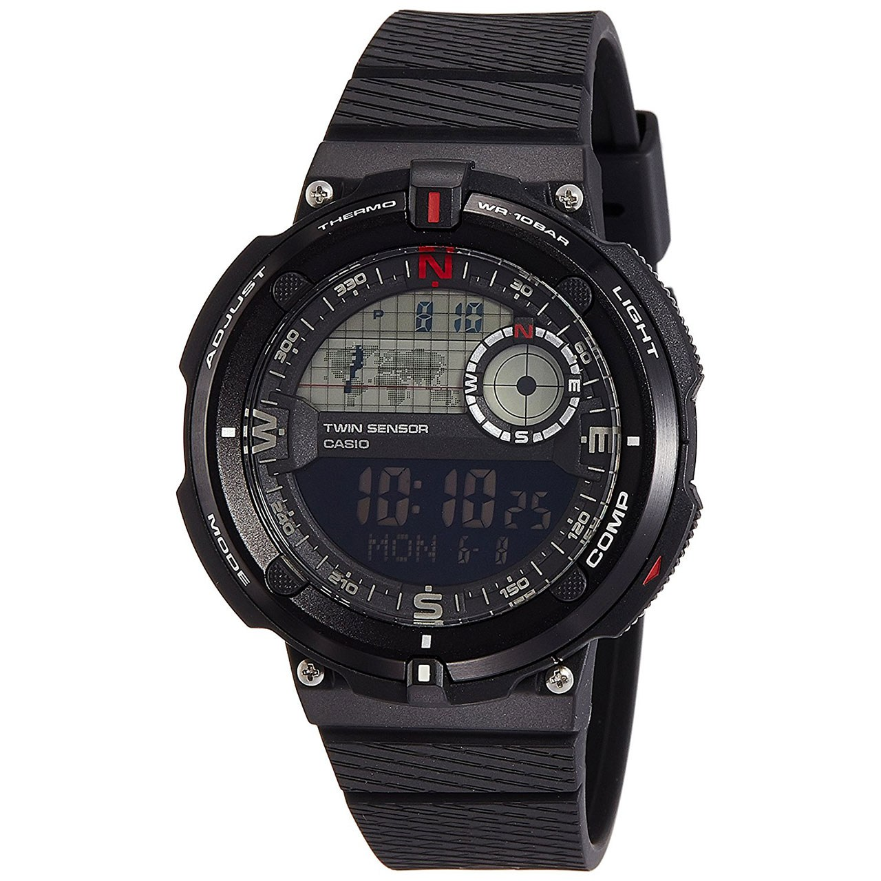 ساعت مچی دیجیتال مردانه کاسیو مدل SGW-600H-1BDR 13