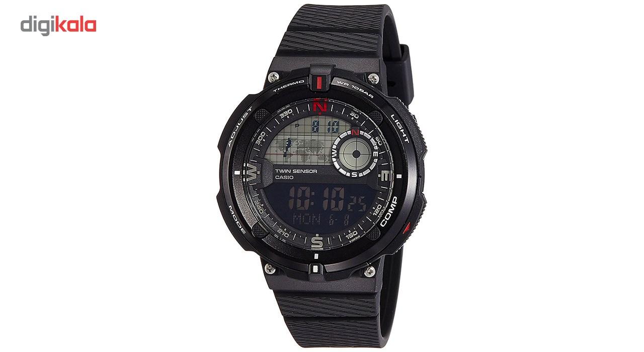 خرید ساعت مچی دیجیتال مردانه کاسیو مدل SGW-600H-1BDR | ساعت مچی