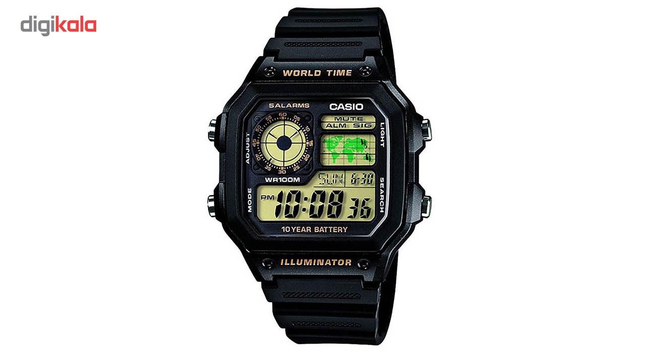 ساعت مچی دیجیتالی  کاسیو مدل AE-1200WH-1BVDF             قیمت