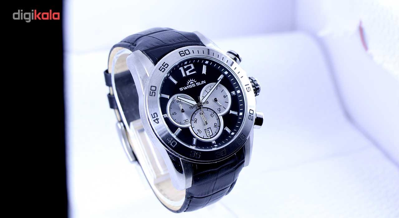 خرید ساعت مچی عقربه ای مردانه سوئیس سان مدل g3282-s
