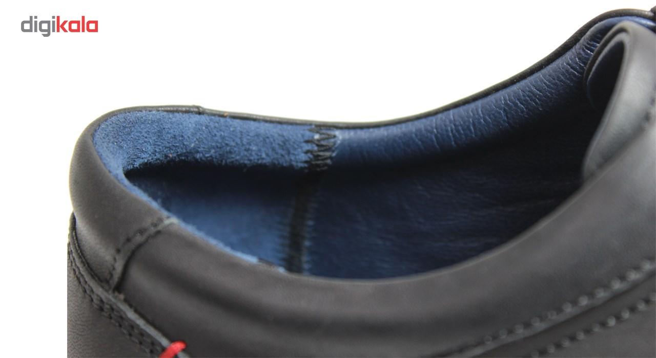 کفش مردانه چرم طبیعی ژست مدل 1011