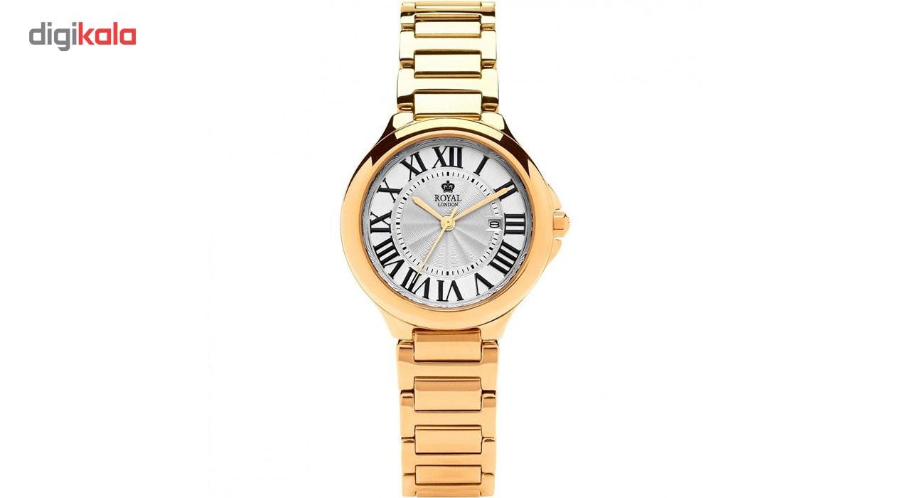 ساعت مچی عقربه ای زنانه رویال لندن مدل RL-21378-03
