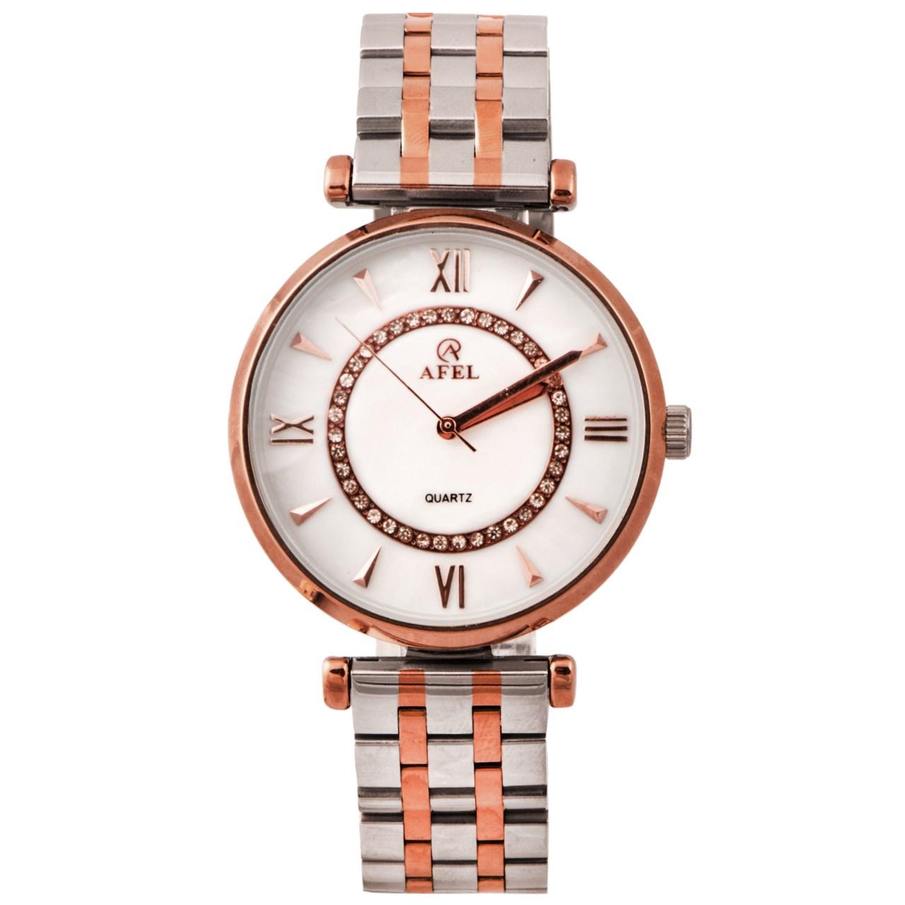 ساعت مچی عقربه ای زنانه آفل مدل 1049