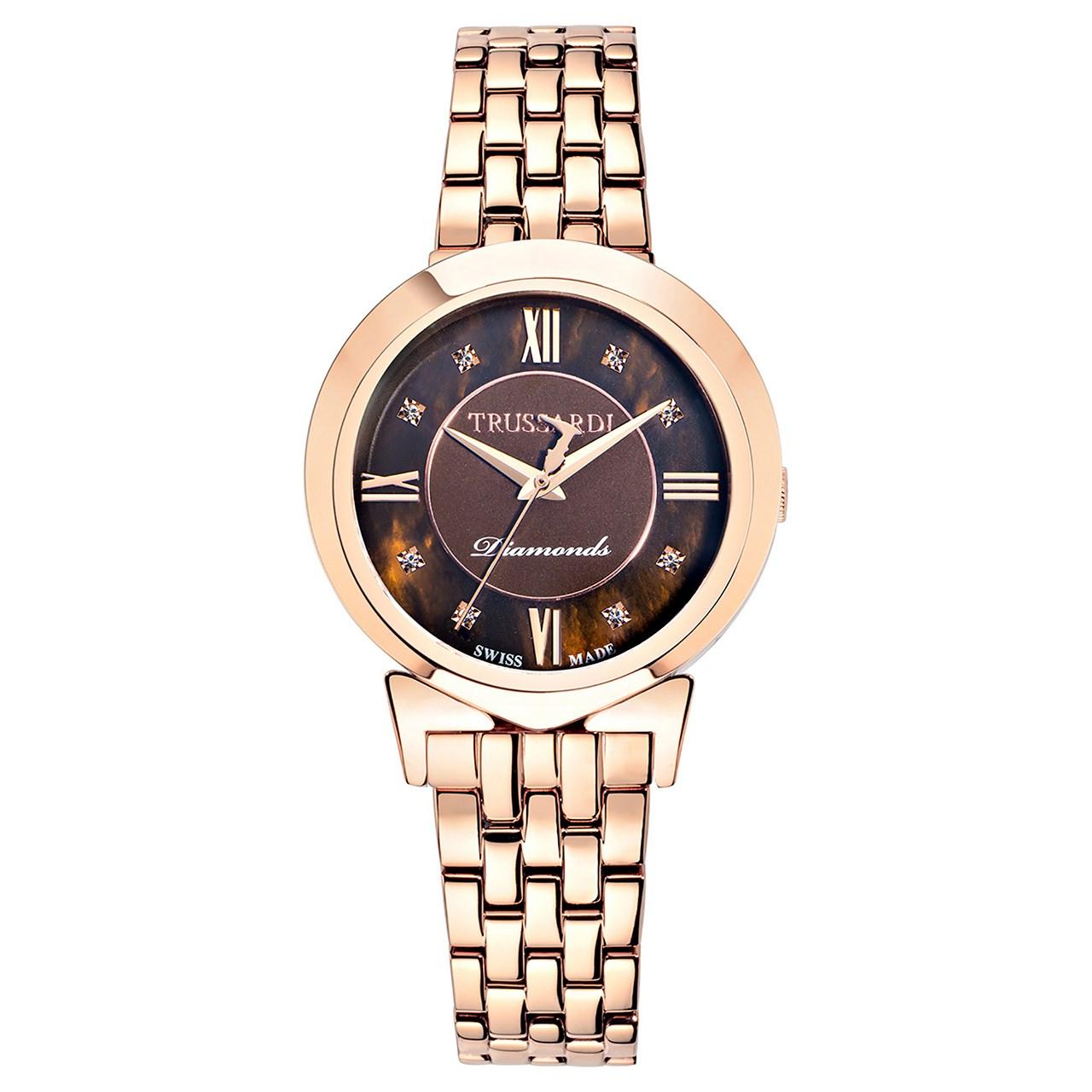 ساعت مچی عقربه ای زنانه تروساردی مدل TR-R2453105505