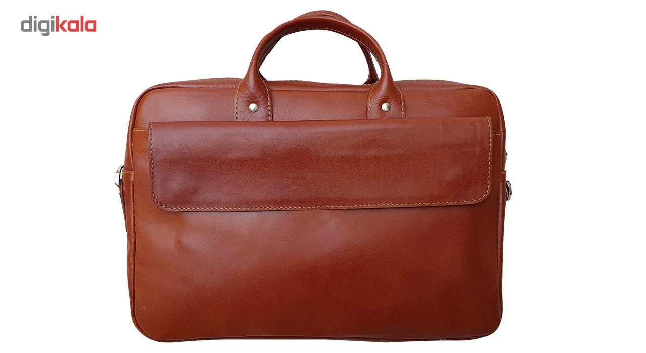 کیف  اداری چرم خاطره مدل MD-150
