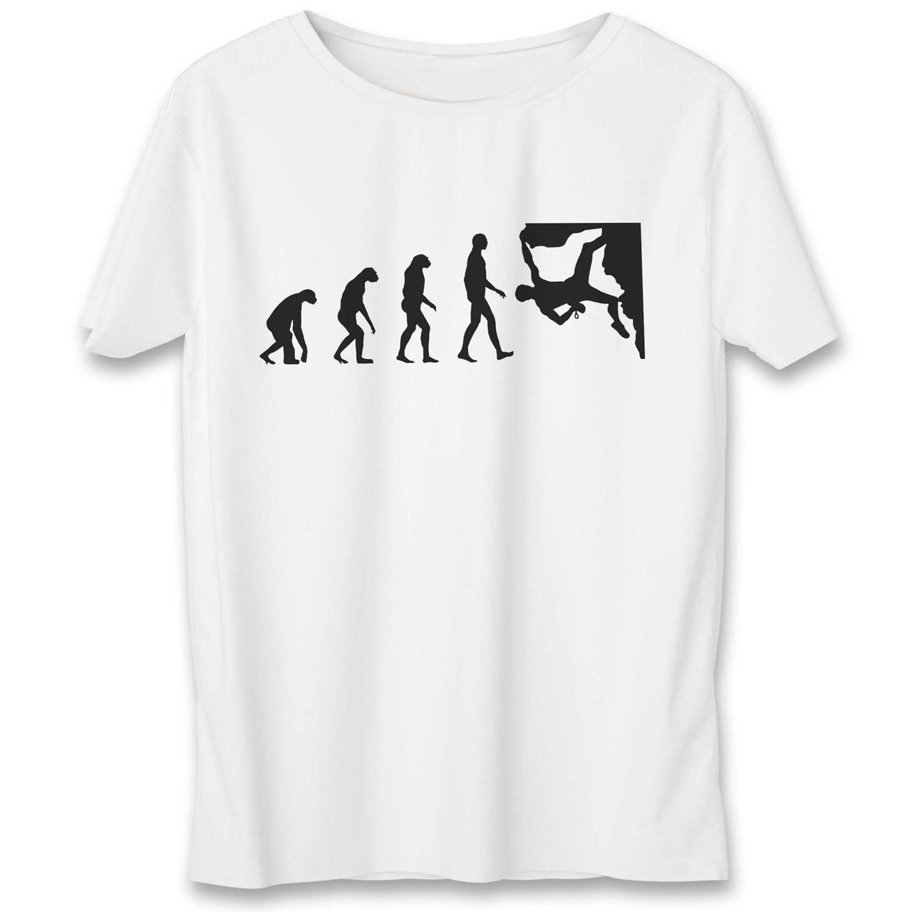 تی شرت یورپرینت به رسم طرح صخره نورد کد 338