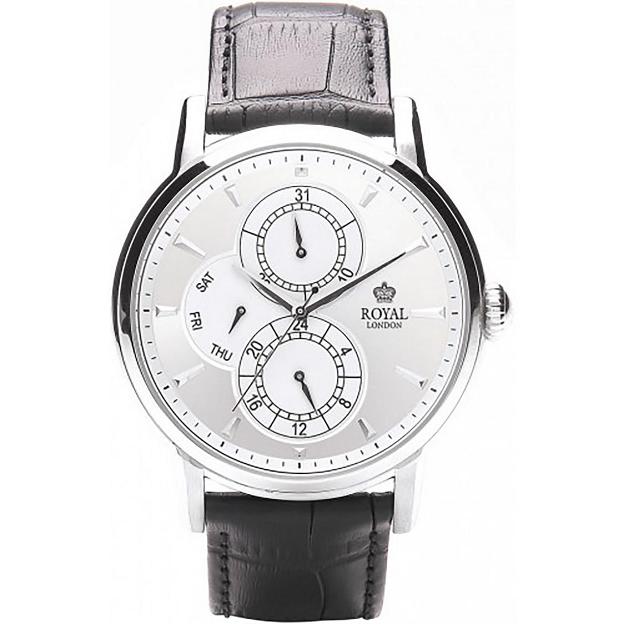 ساعت مچی عقربه ای مردانه رویال لندن مدل RL-41040-01 45