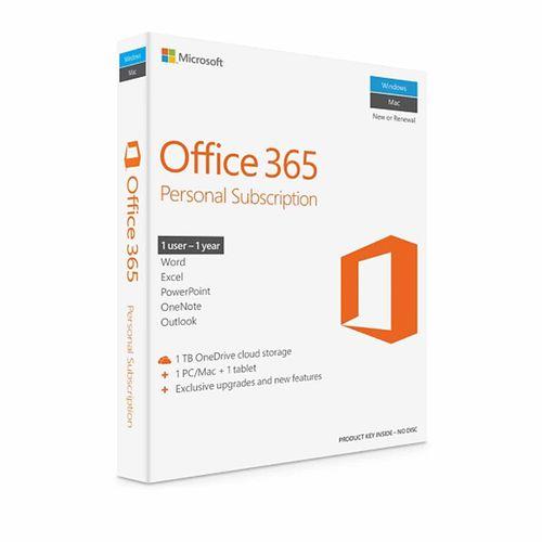 نرم افزار Office 365 Personal Subscription نسخه ریتیل