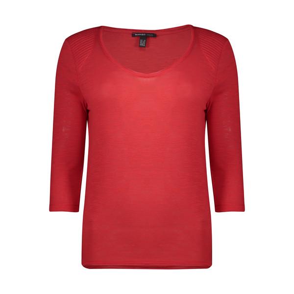 تی شرت زنانه مانگو مدل 33077543-VT
