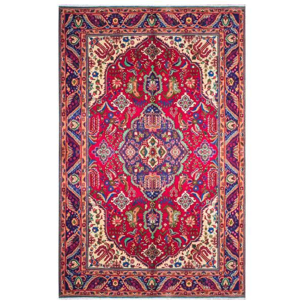فرش دستبافت قدیمی 6 متری کد TC010