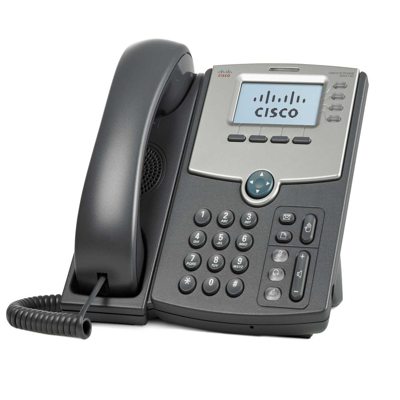 تلفن تحت شبکه سیسکو مدل SPA 514