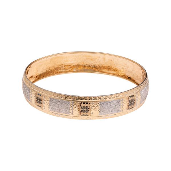 النگو طلا 18 عیار زنانه گالری یار طلا کد AL36-W-2