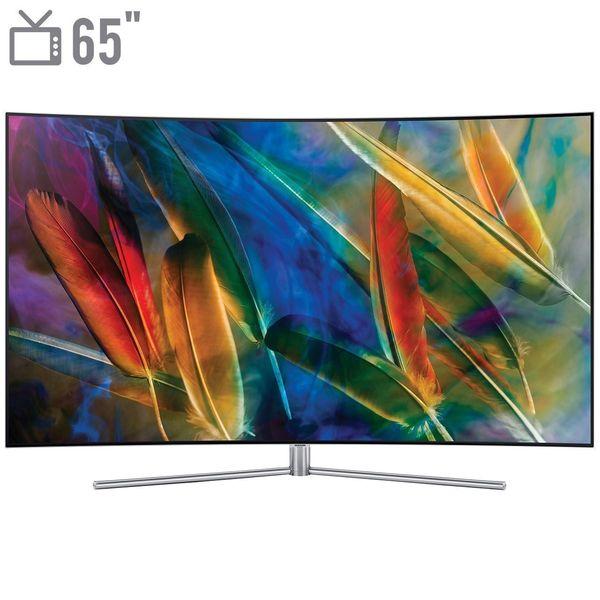 تلویزیون کیولد هوشمند خمیده سامسونگ مدل 65Q78 سایز 65 اینچ