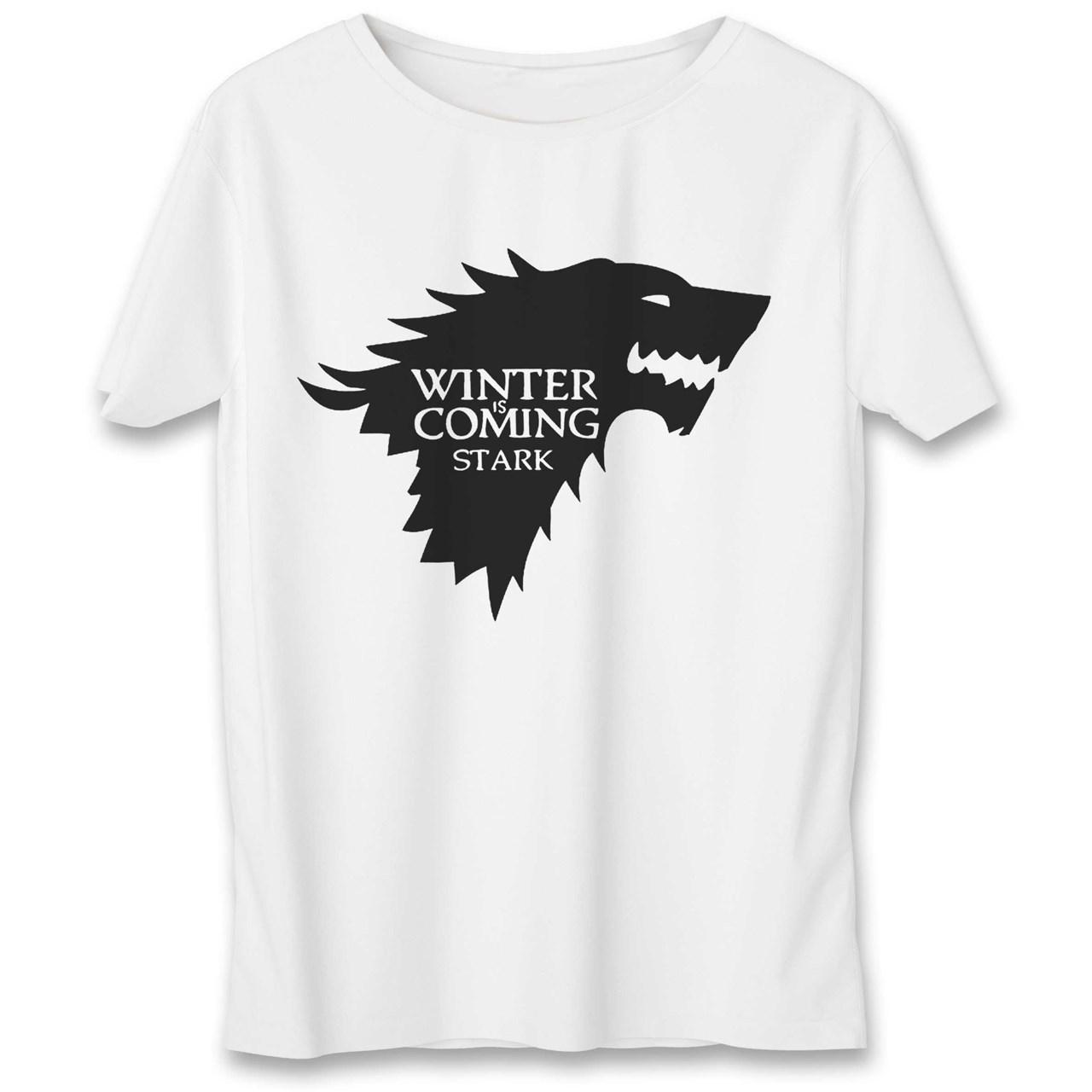 تی شرت یورپرینت به رسم طرح بازی تاج و تخت کد 323