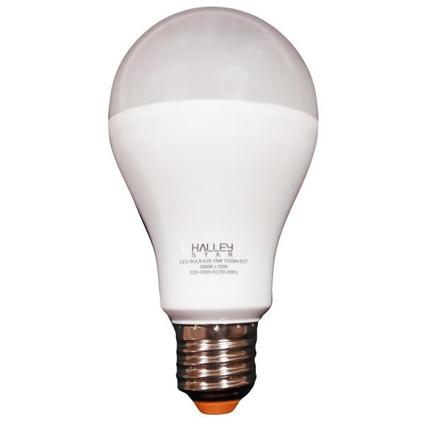 لامپ ال ای دی 15 وات هالی استار کد A70 پایه E27
