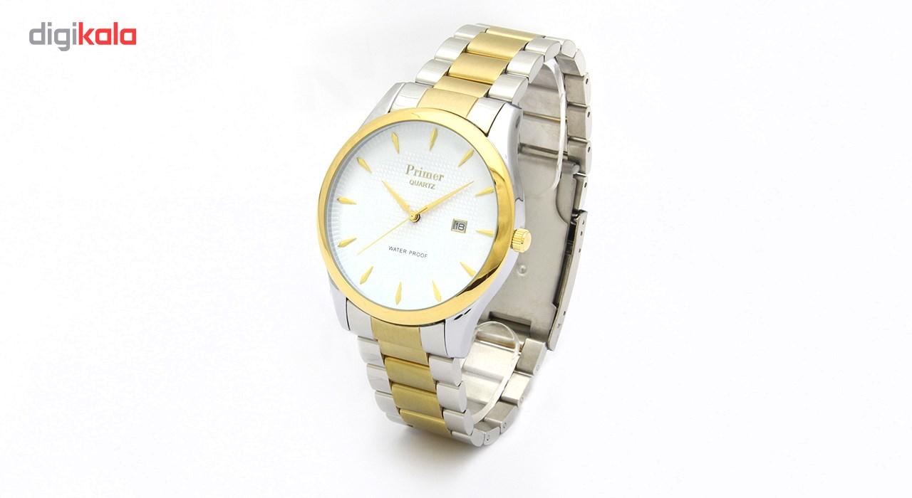 خرید ساعت مچی عقربه ای مردانه پرایمر مدل TR-142-WG | ساعت مچی