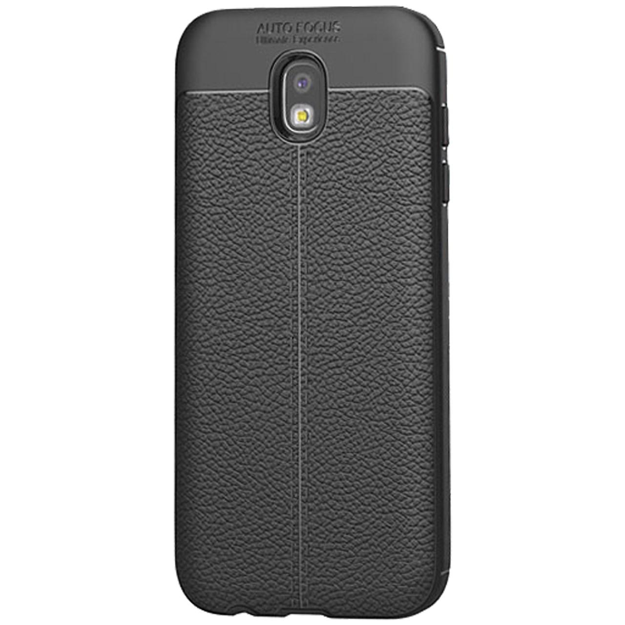 کاور ژله ای طرح چرم مناسب برای گوشی موبایل سامسونگ J7 Pro