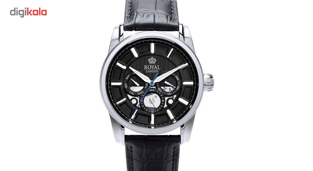 ساعت مچی عقربه ای مردانه رویال لندن مدل RL-41324-01