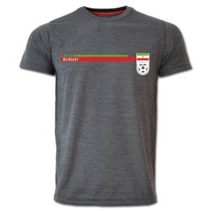 تی شرت آستین کوتاه طرح ایران کد  SKH01