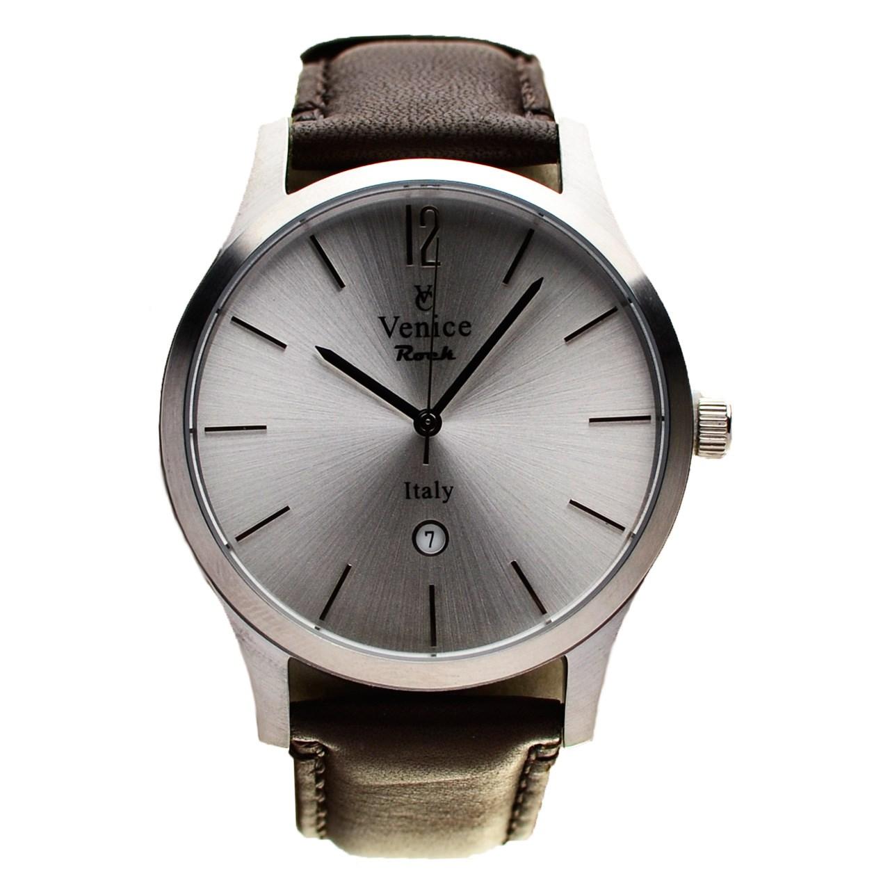 ساعت مچی عقربه ای مردانه ونیز مدل SC3005 31