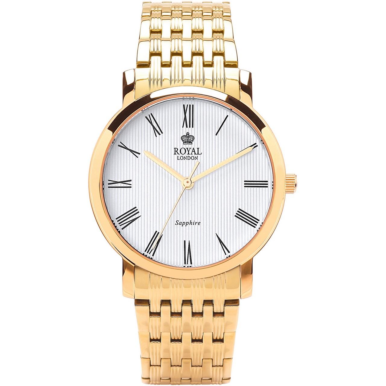 قیمت                      ساعت مچی عقربه ای مردانه رویال لندن مدل RL-41265-07