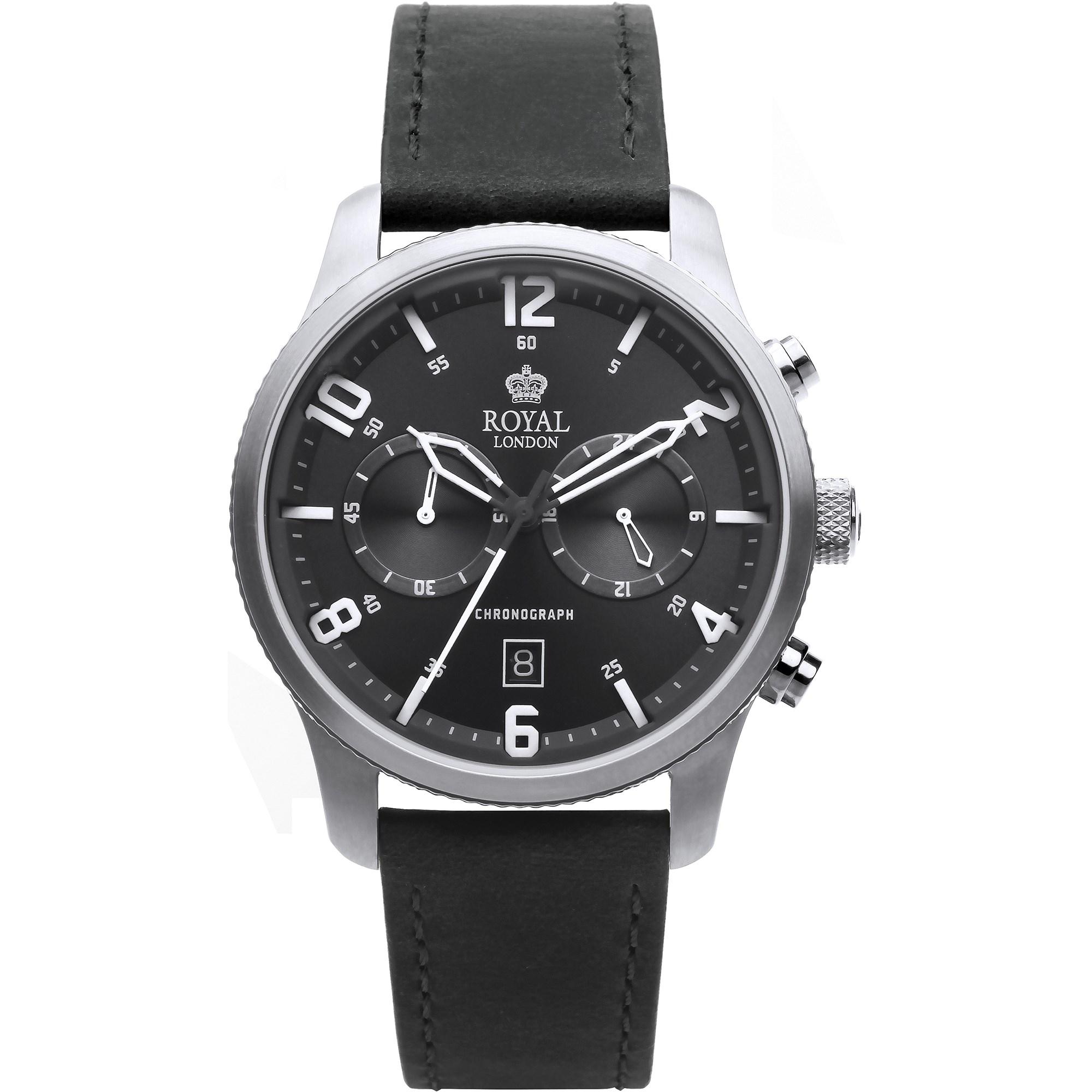 ساعت مچی عقربه ای مردانه رویال لندن مدل RL-41362-01