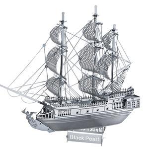 پازل فلزی سه بعدی مدل Black Pearl