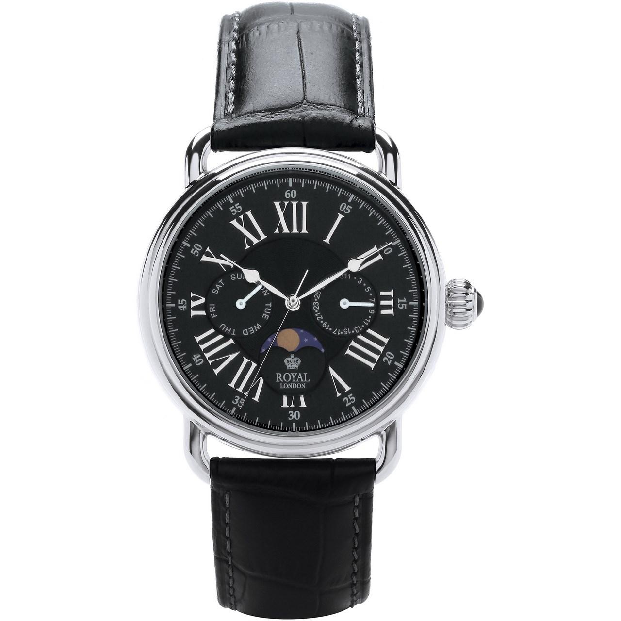 ساعت مچی عقربه ای مردانه رویال لندن مدل RL-41250-01