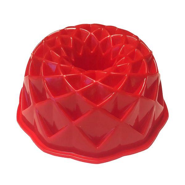 قالب پلاستیکی کیک و دسر کیک باکس کد 1037 مدل هندسی متوسط