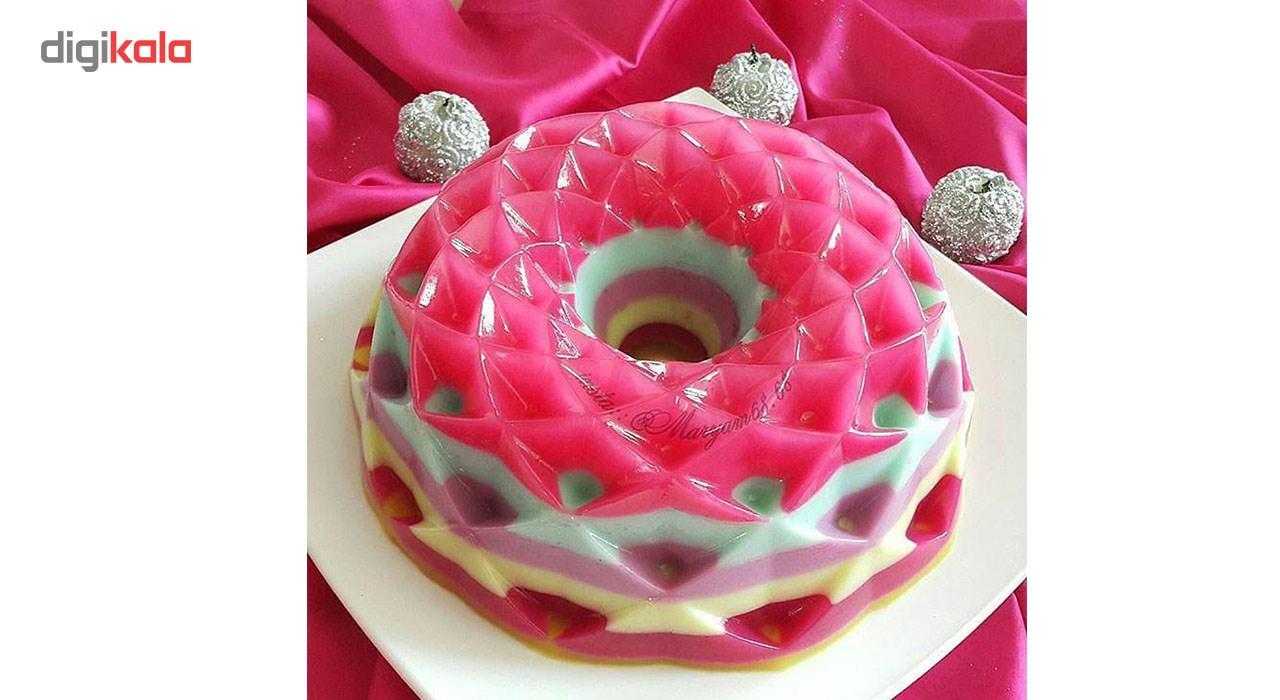 قالب پلاستیکی کیک و دسر کیک باکس کد 1037 مدل هندسی متوسط main 1 2