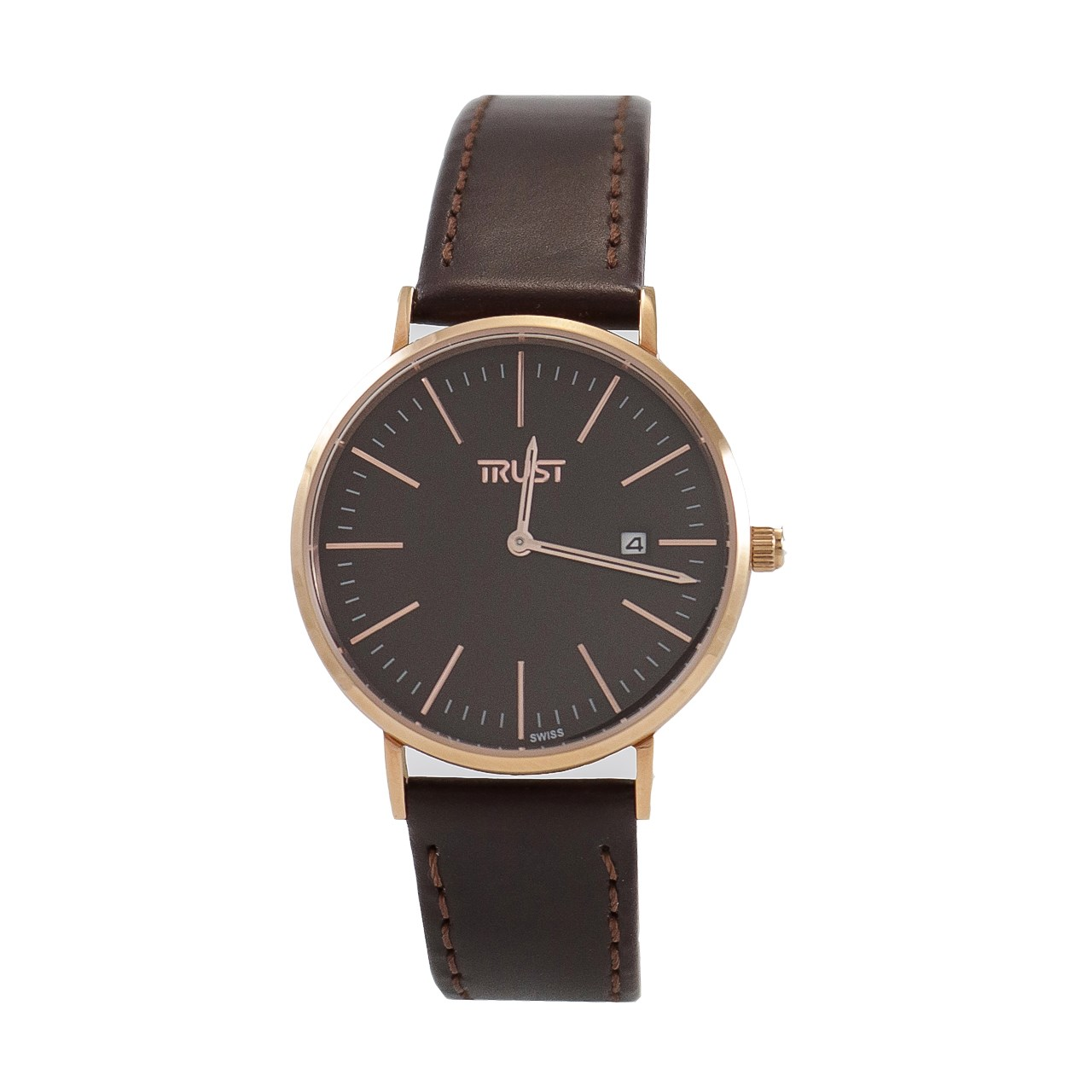 ساعت مچی عقربه ای مردانه تراست مدل TRML102