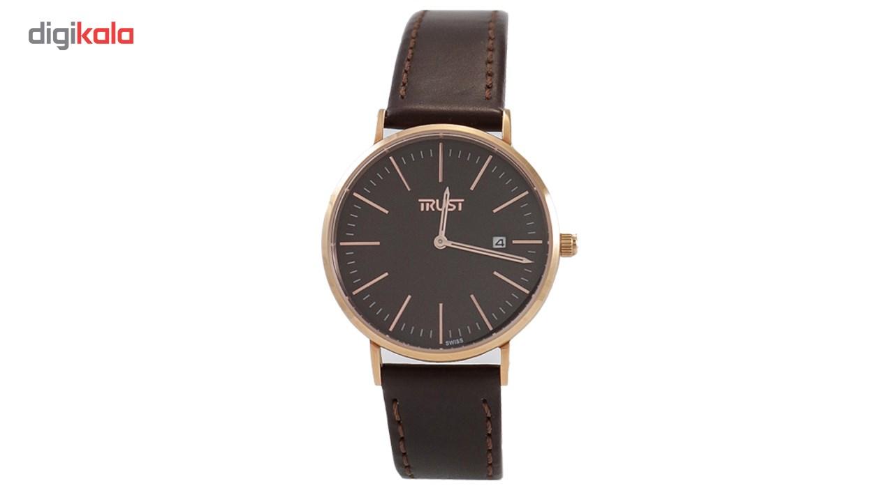 خرید ساعت مچی عقربه ای مردانه تراست مدل TRML102