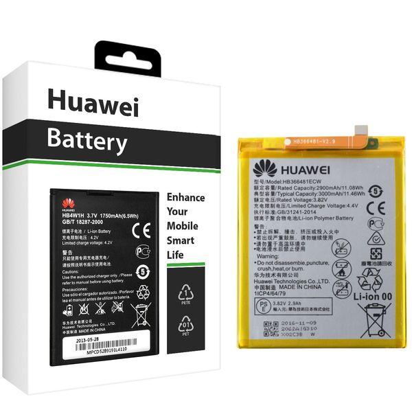 باتری موبایل هوآوی مدل HB366481ECW با ظرفیت 3000mAh مناسب برای گوشی موبایل هوآوی P9/P9 Lite   Huawei HB366481ECW 3000mAh Cell Mobile Phone Battery For Huawei P9/P9 Lite