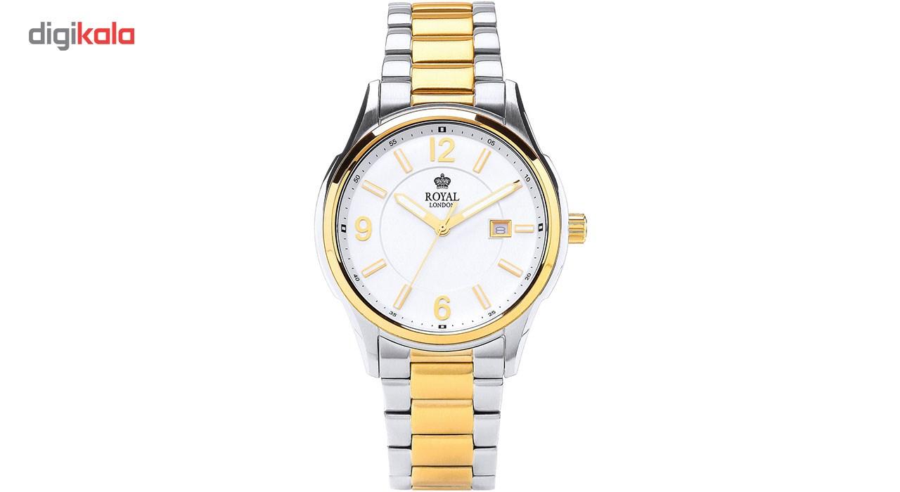 خرید ساعت مچی عقربه ای مردانه رویال لندن مدل RL-41222-08