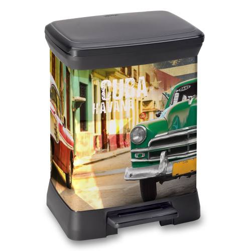 سطل زباله کرور مدل Cuba Havana حجم 30 لیتری