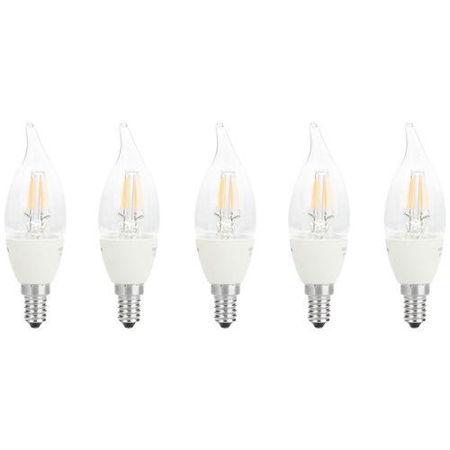 لامپ فیلامنتی 3 وات سان شاین مدل F35 پایه E14 بسته 5 عددی