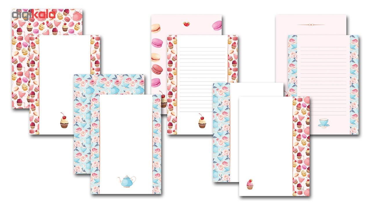 کاغذ یادداشت ستوده کد sbox022 بسته 100 عددی