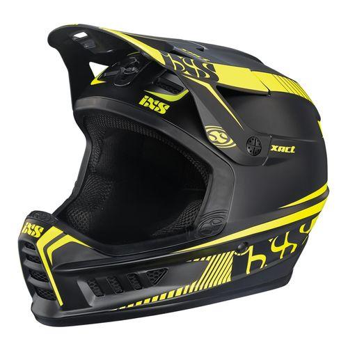 کلاه ایمنی دوچرخه آی ایکس اس مدل Xact Blck Yellow-ML